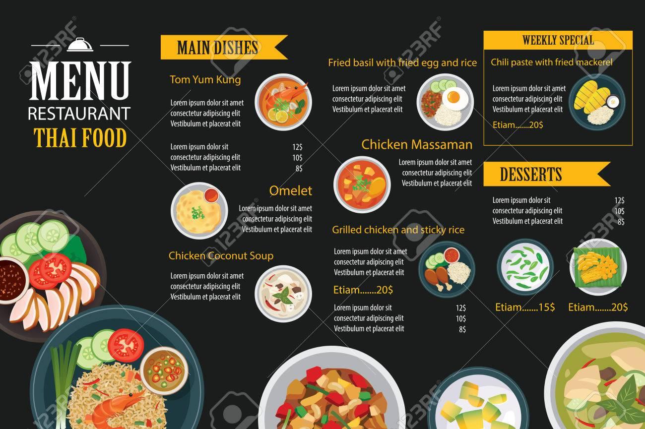 Großzügig Restaurant Menüvorlage Fotos - Beispielzusammenfassung ...