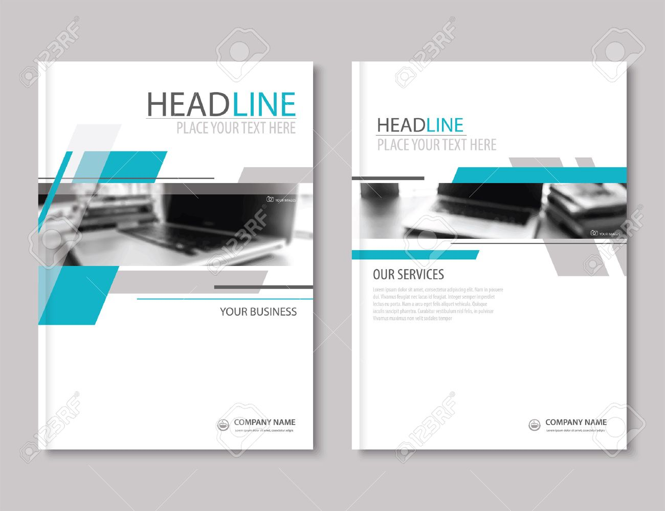 Annual Report Brochure Flyer Design Template. Company Profile ...