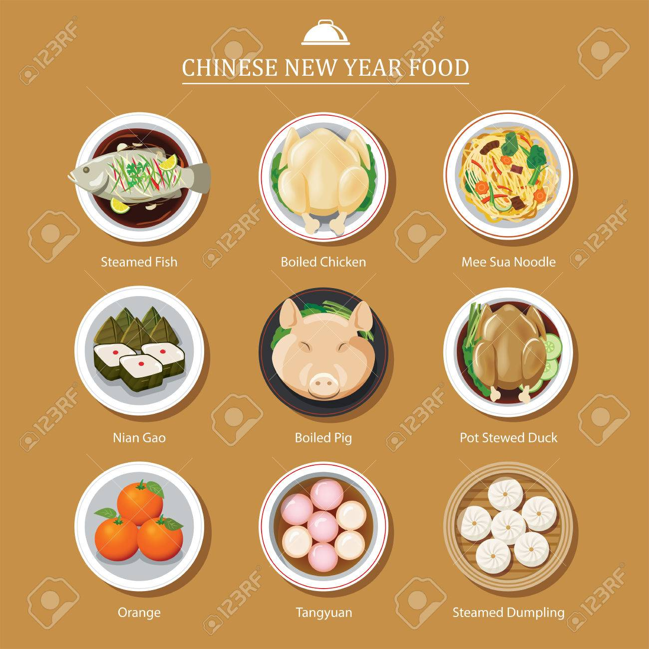 food for chinese new year - 69473392