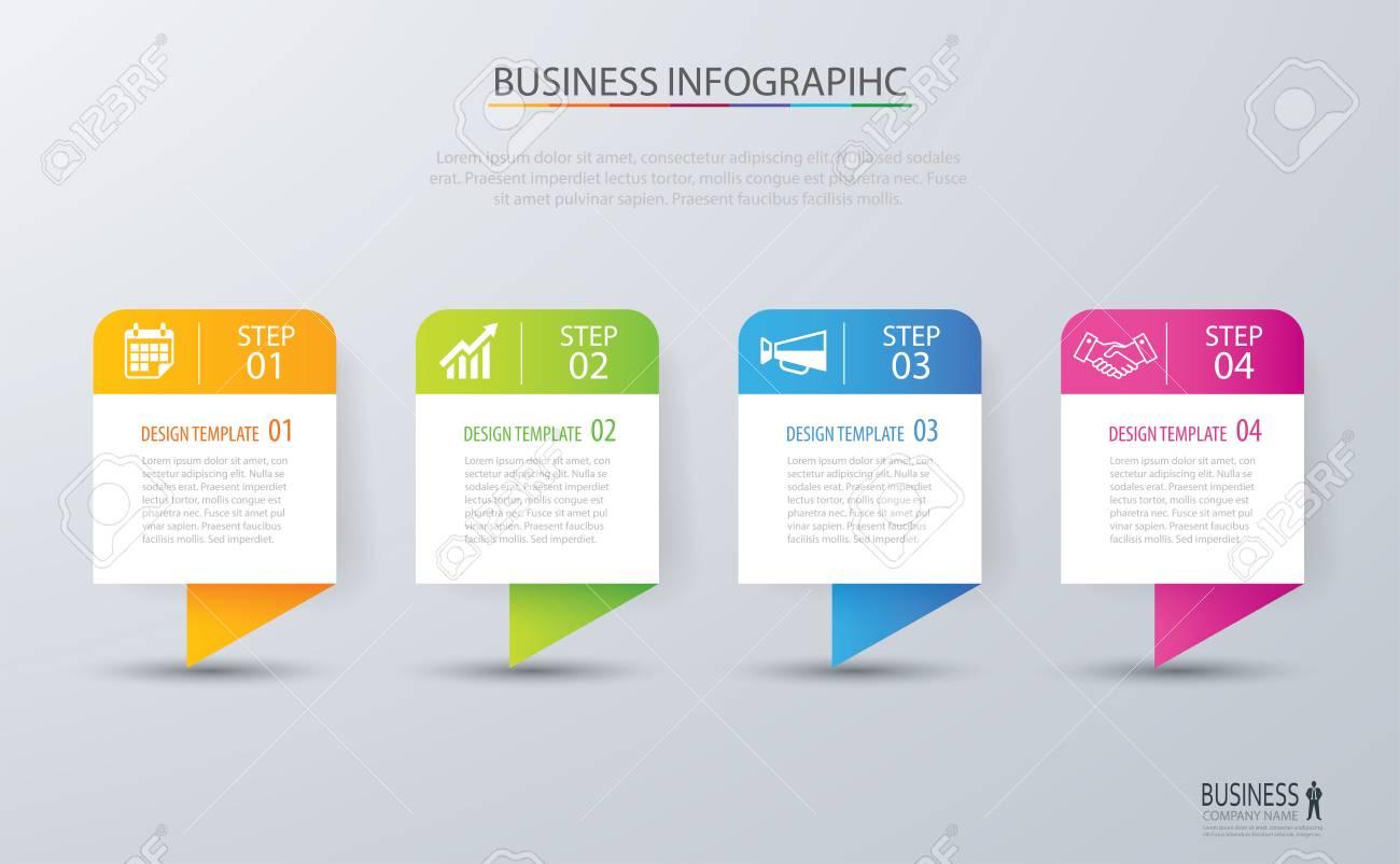 Plantilla De Diseño De índice De Pestaña De Infografía Para ...