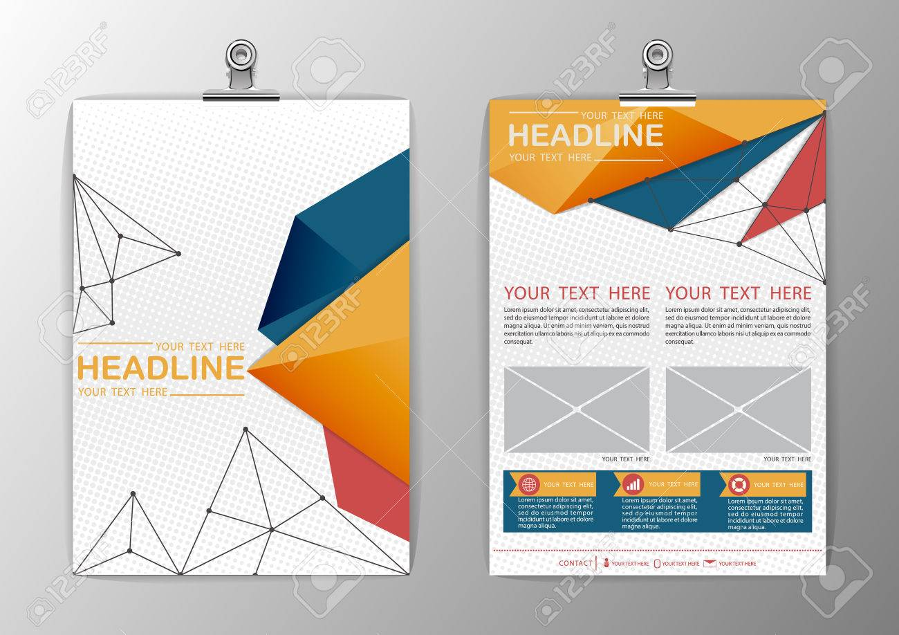 a abstract background triangle design business corporate a4 abstract background triangle design business corporate brochure template flyer layout paper clip