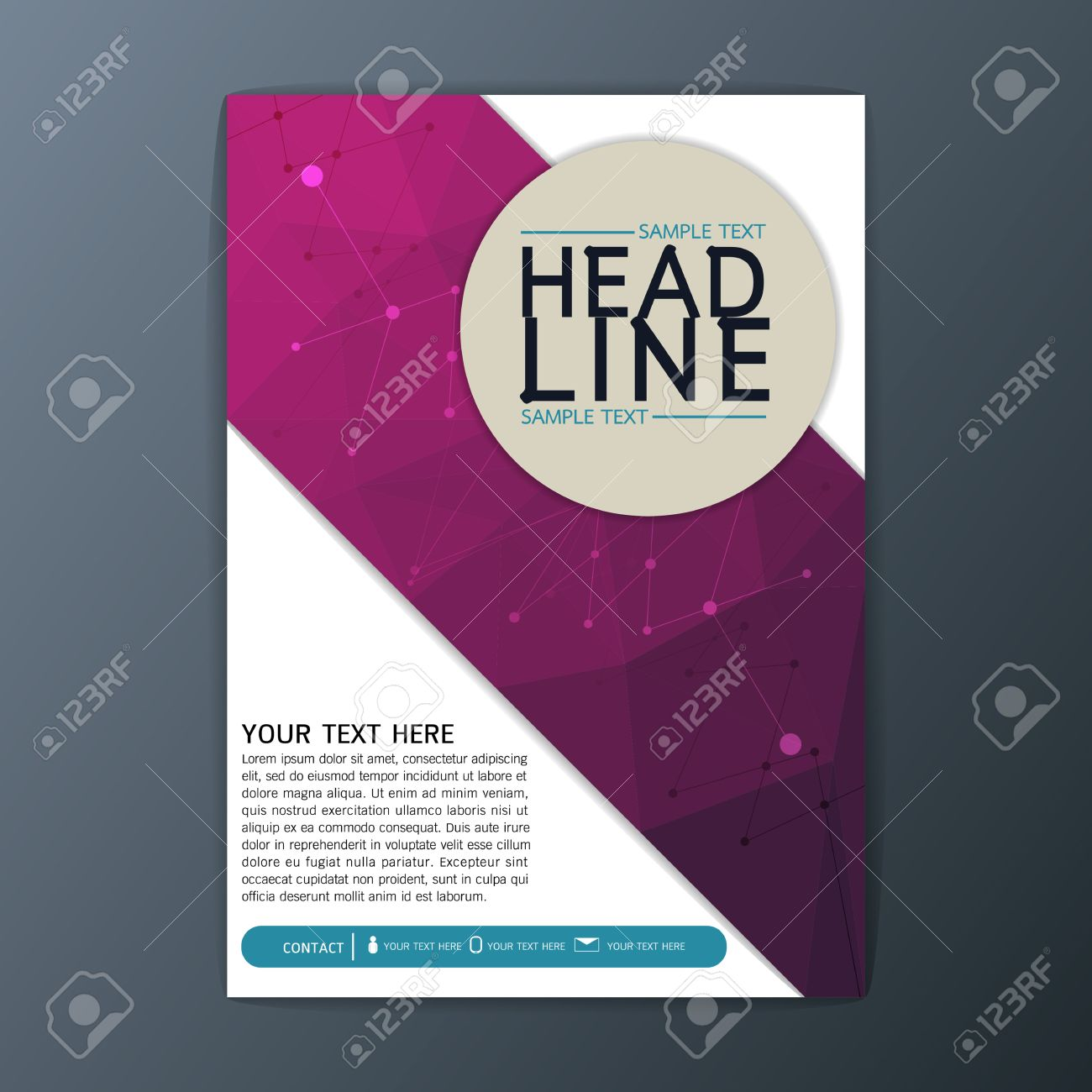 creative abstract polygon background design business corporate creative abstract polygon background design business corporate brochure template flyer layout illustration stock vector