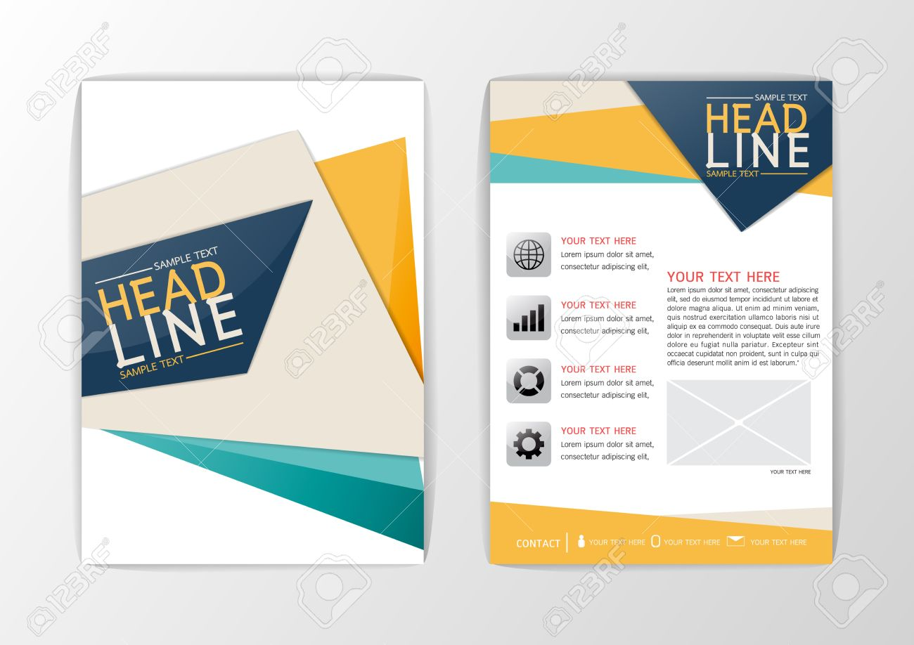a abstract background cover design business brochure set flyer a4 abstract background cover design business brochure set flyer layout magazine vector