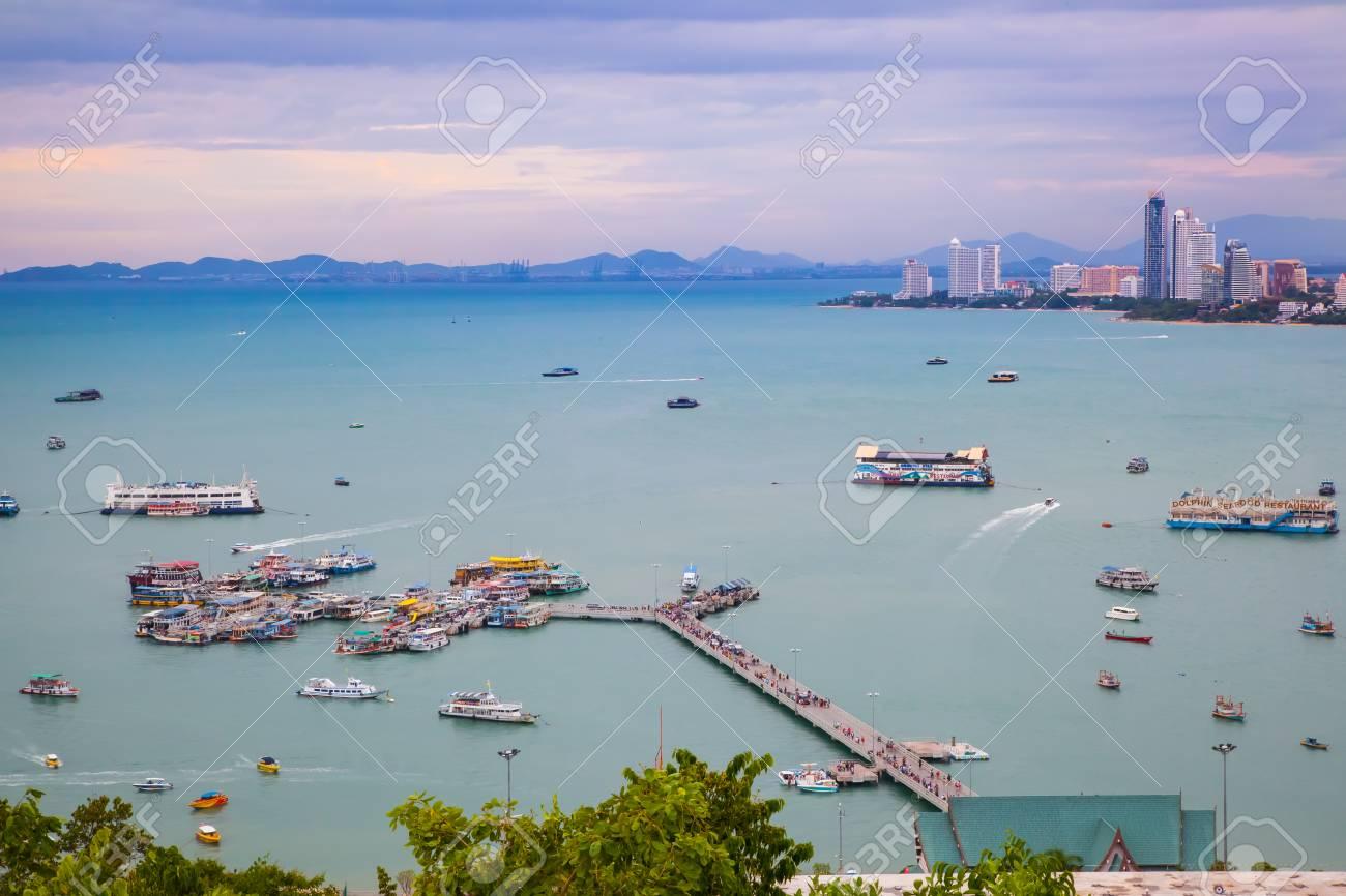 Where Is Bali Hai Island chonburi,thailand - june 16 the beautiful view of bali hai pier..