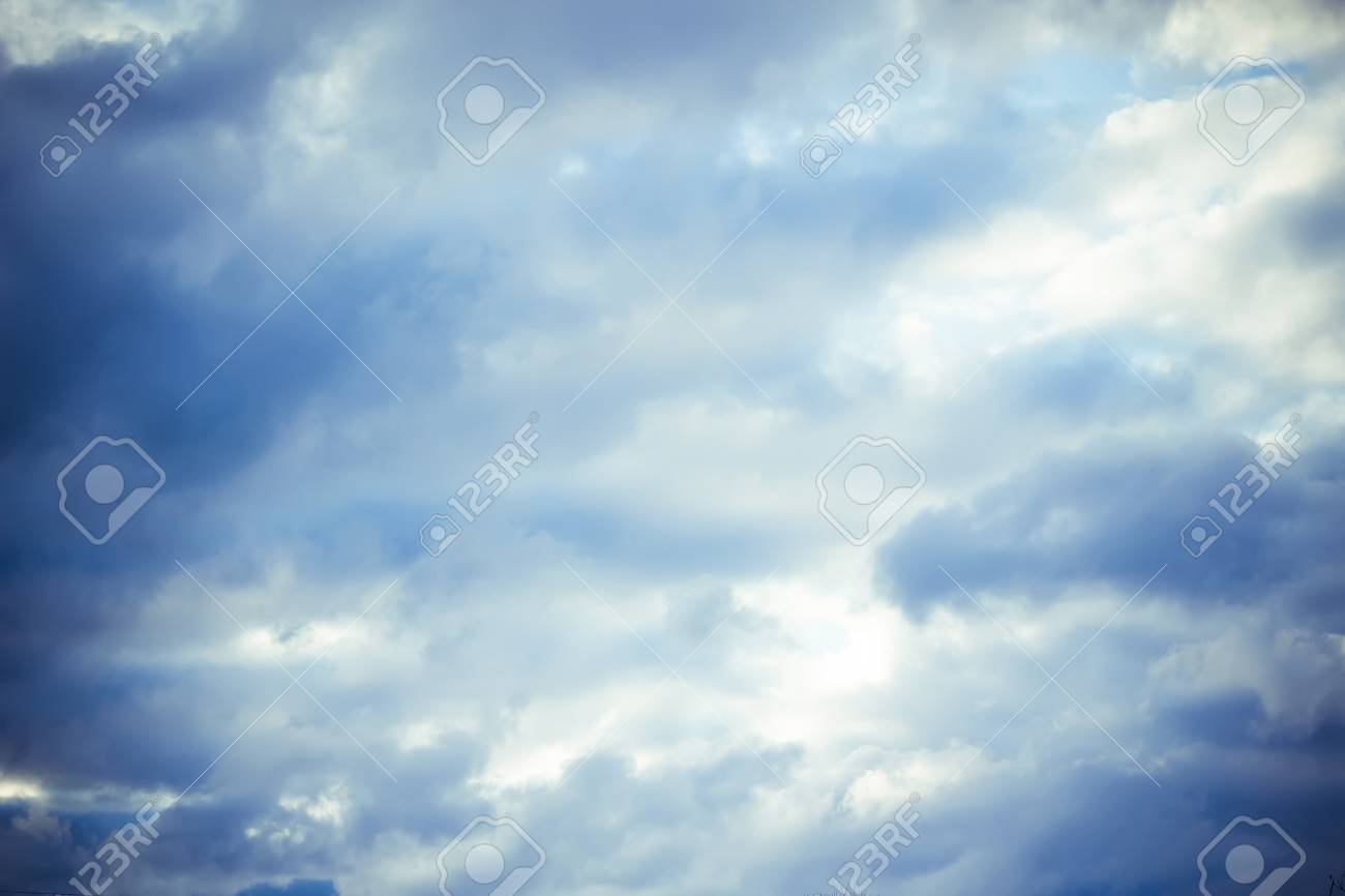 The clouds in the sky Stock Photo - 13437766