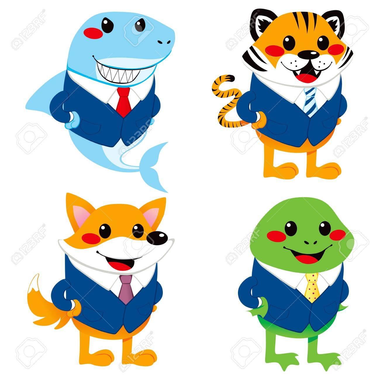 Cute Animal Characters