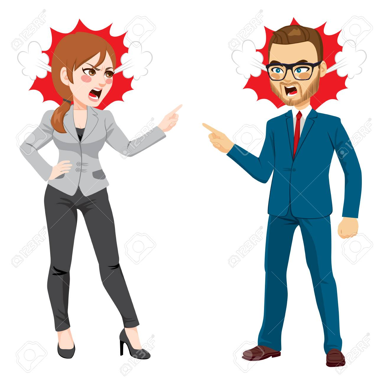 Workplace Conflict Stock Illustrations – 684 Workplace Conflict Stock  Illustrations, Vectors & Clipart - Dreamstime