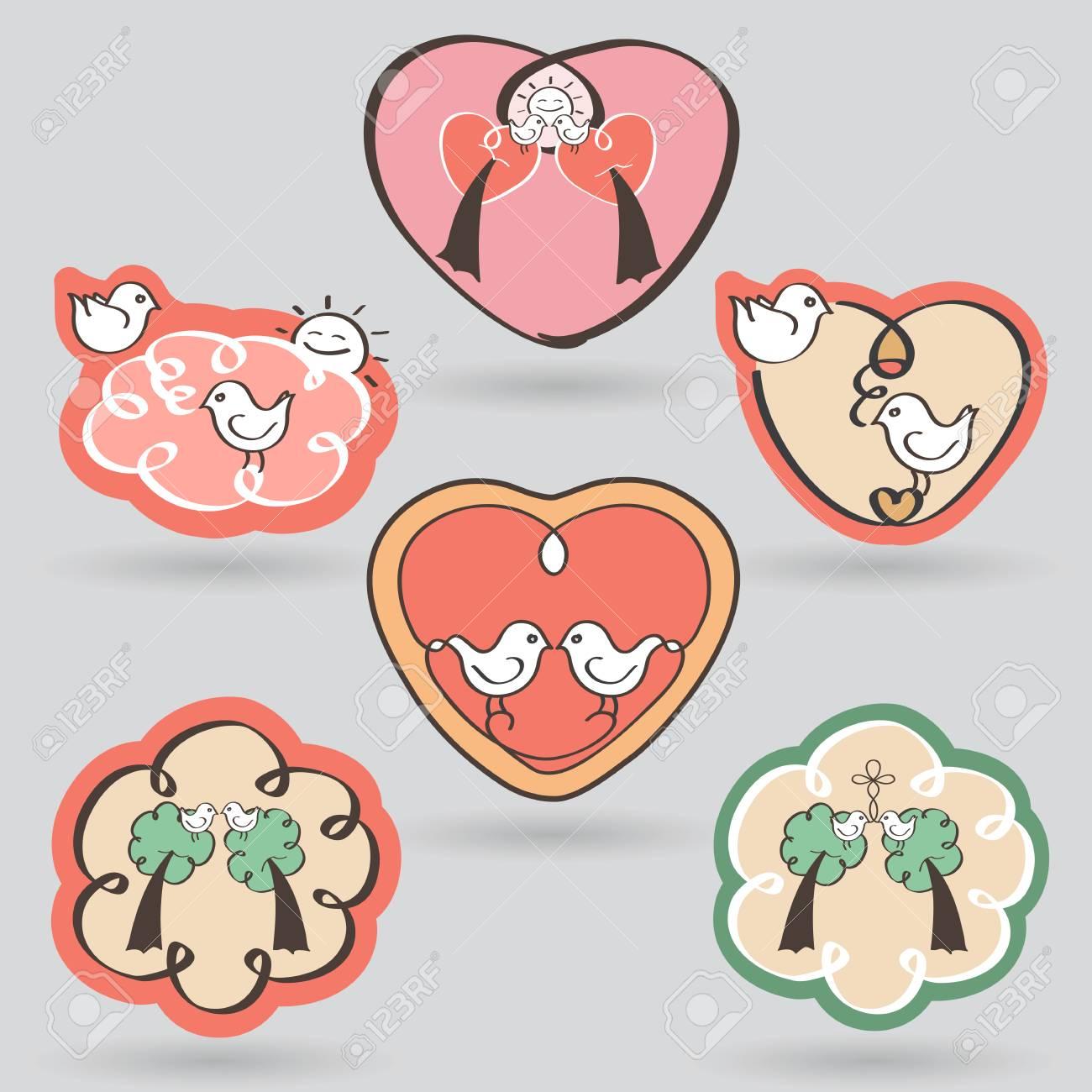 Ungewöhnlich Valentinstag Aufkleber Ideen - Bilder für das ...