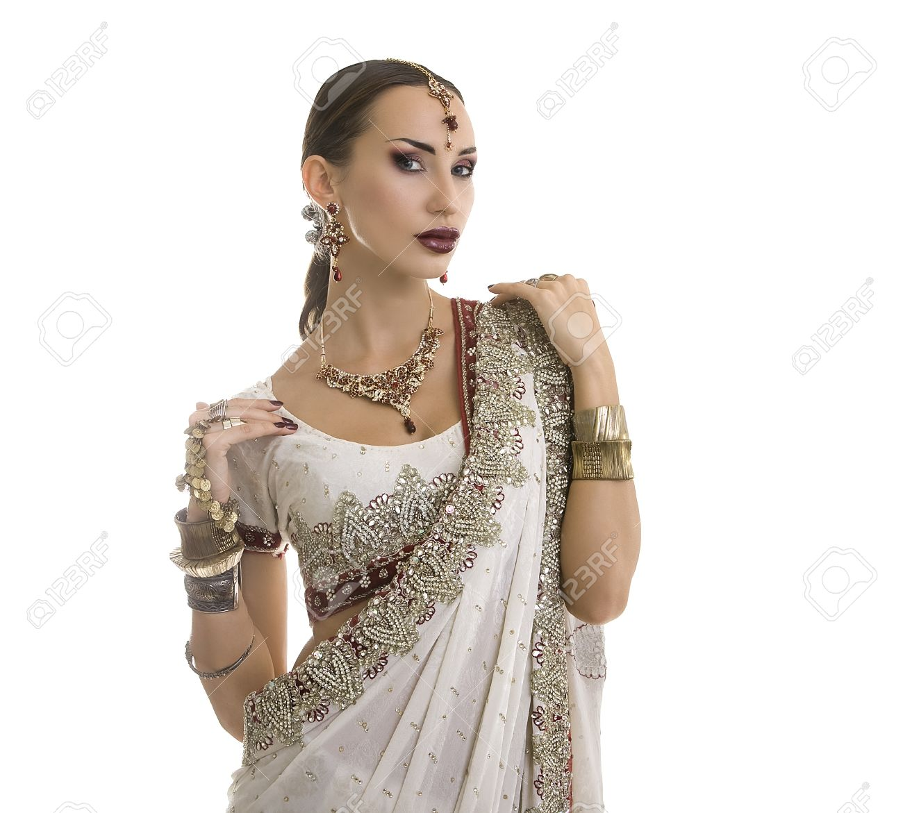 Vestido de mujer en india
