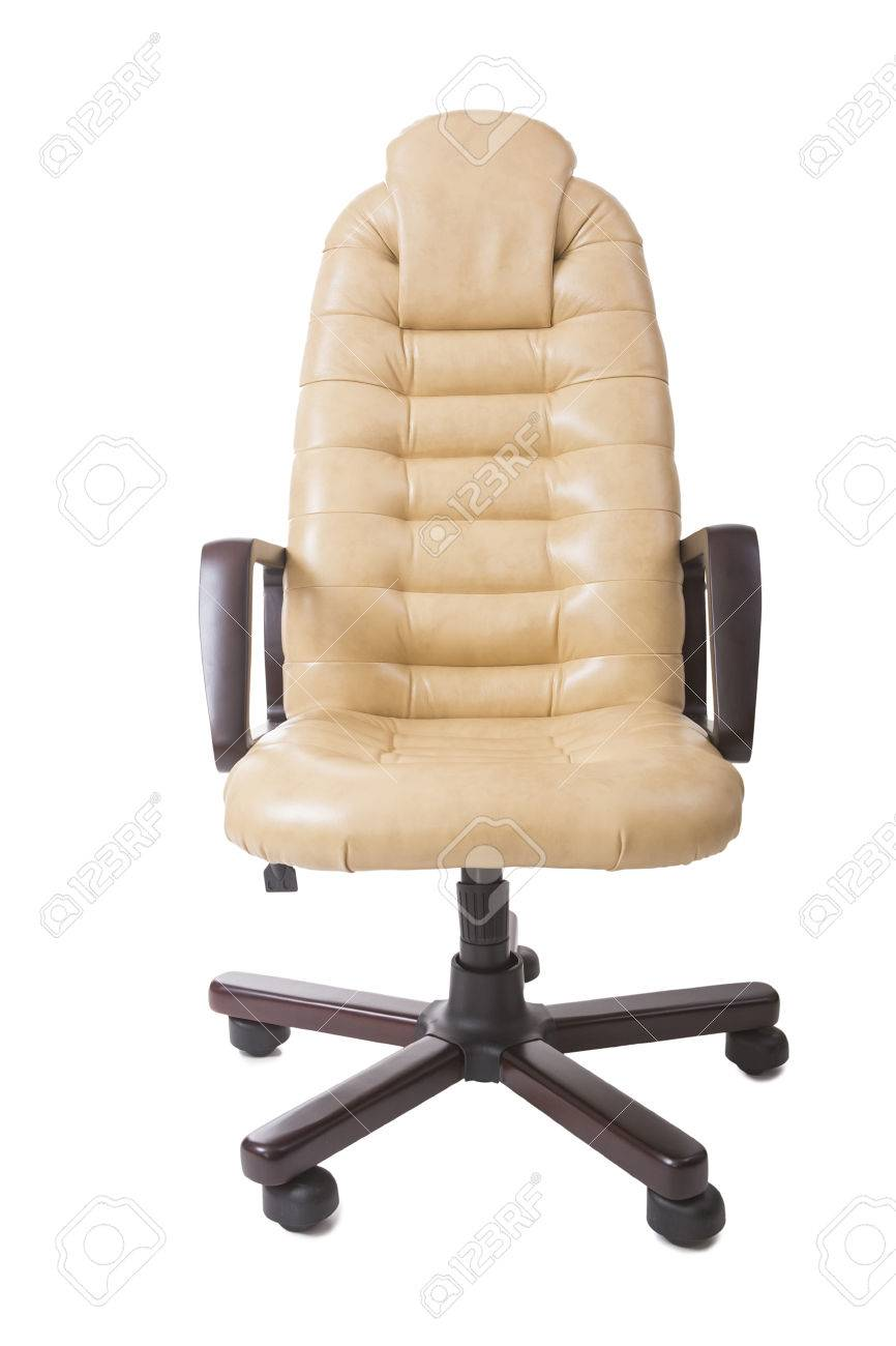 New Leather Office Boss Chair (armchair). Restoration Of Furniture And  Replacing, Update