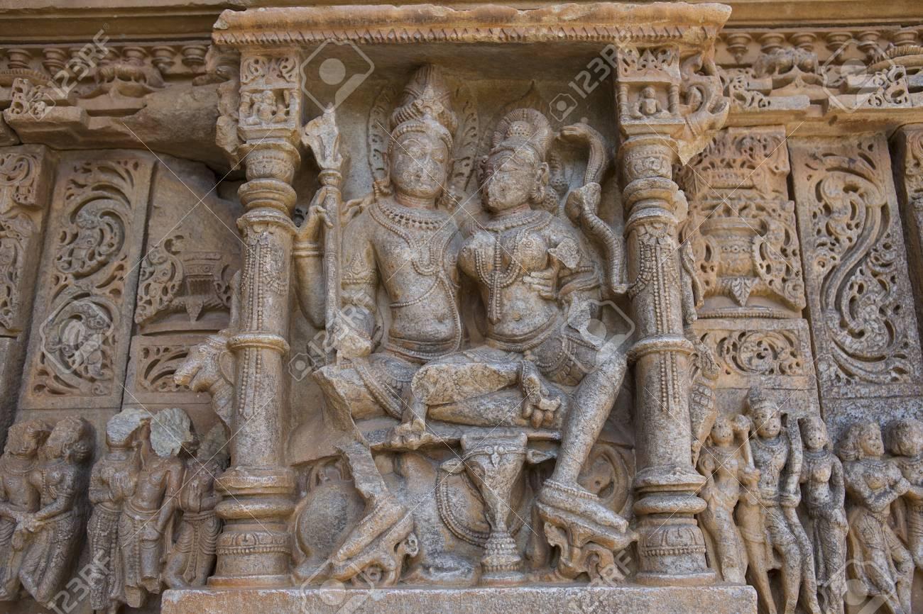 Old Hindu SasBahu Temple In Rajasthan Near Udaipur India - Ancient india religion