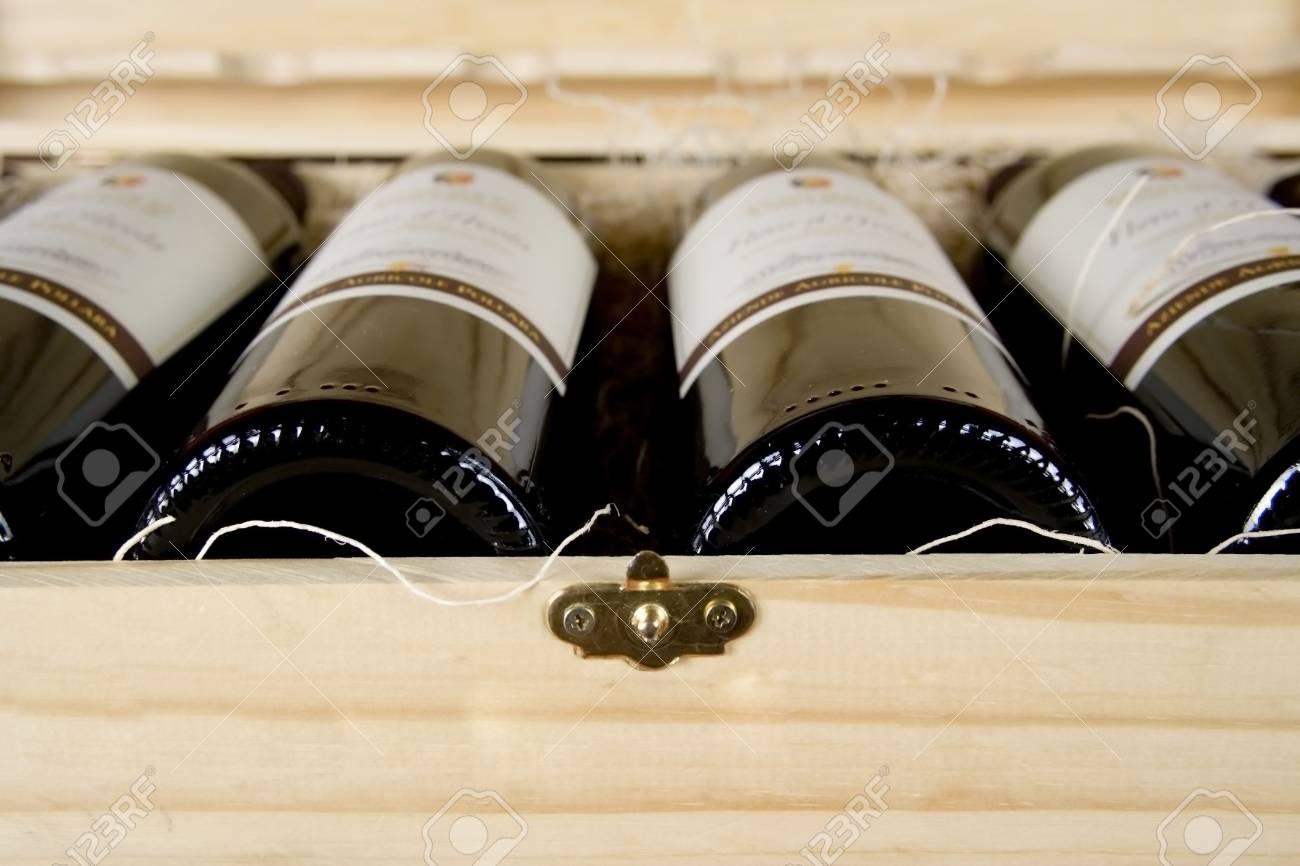 Bottles of Wine Stock Photo - 700661