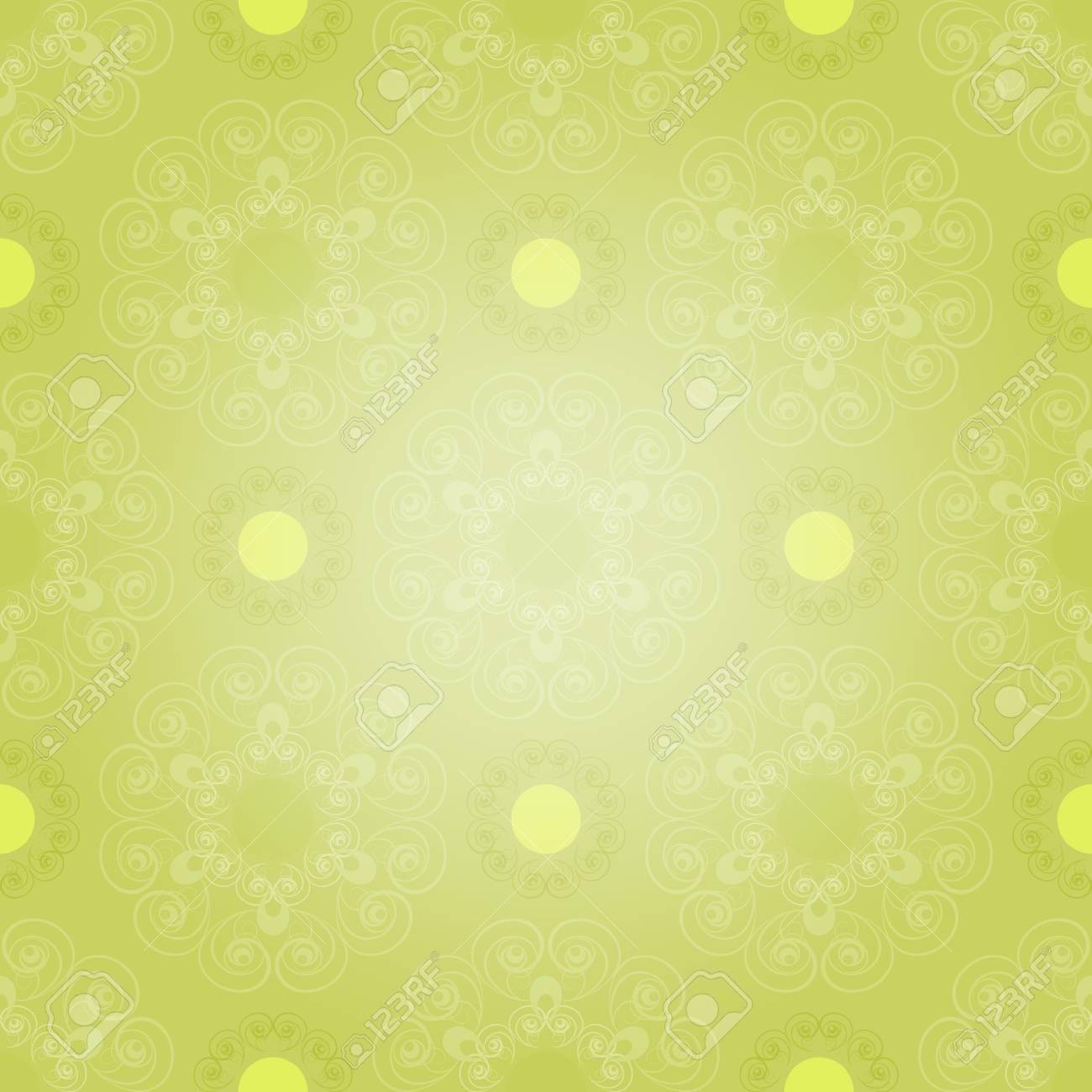 Seamless pattern in green  tones Stock Vector - 12021958