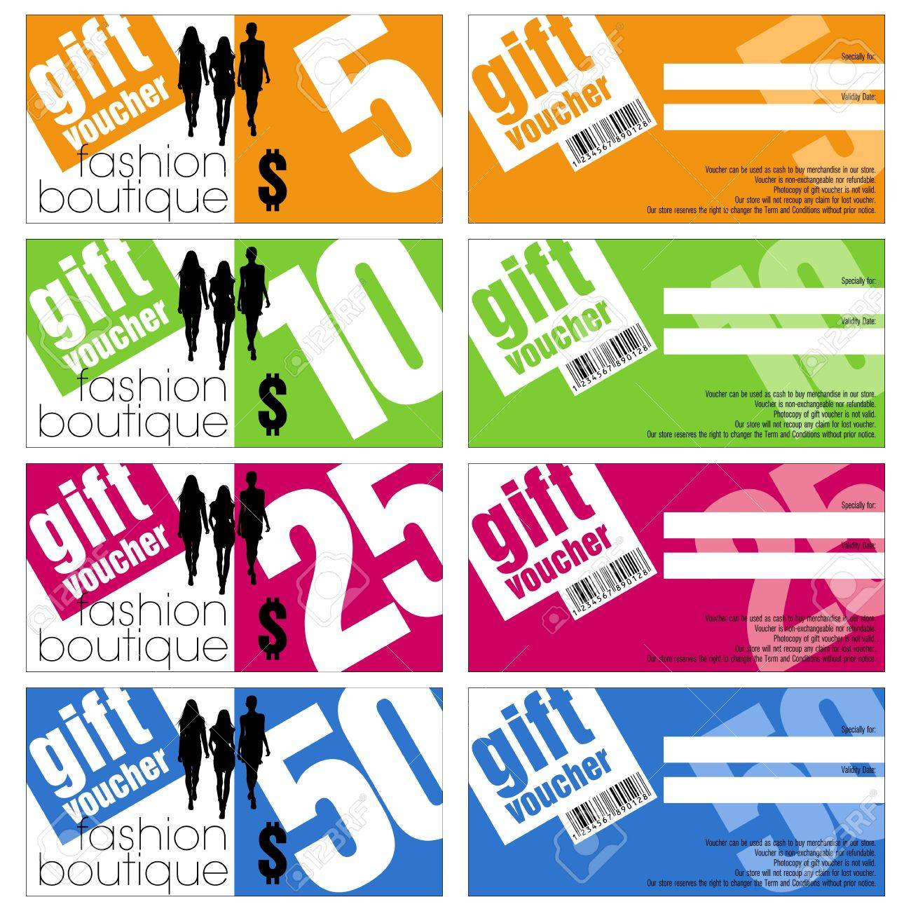 Vector gift vouchers set royalty free cliparts vectors and stock vector gift vouchers set stock vector 19288171 negle Gallery