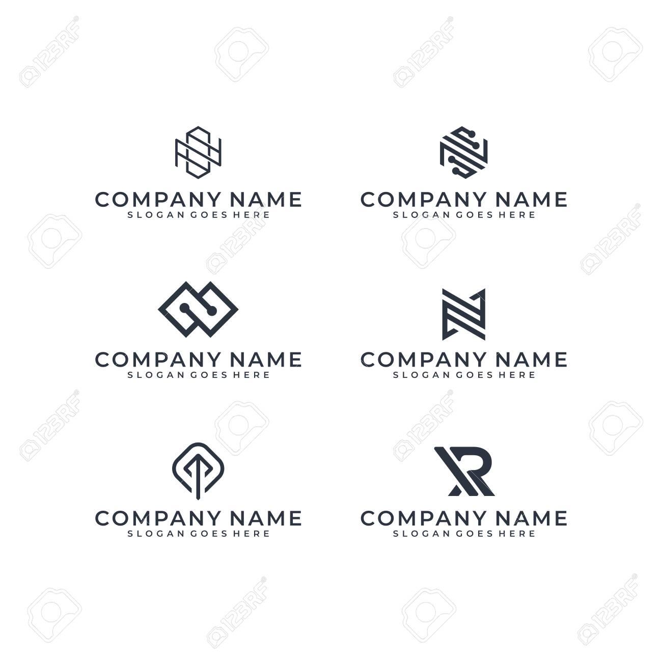 Logo design bundle inspiration - 140408886