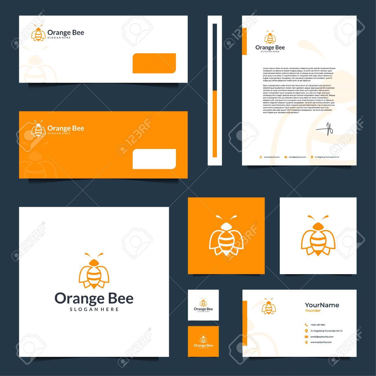 Modern elegant brand design that contain till letterhead design - 141675868