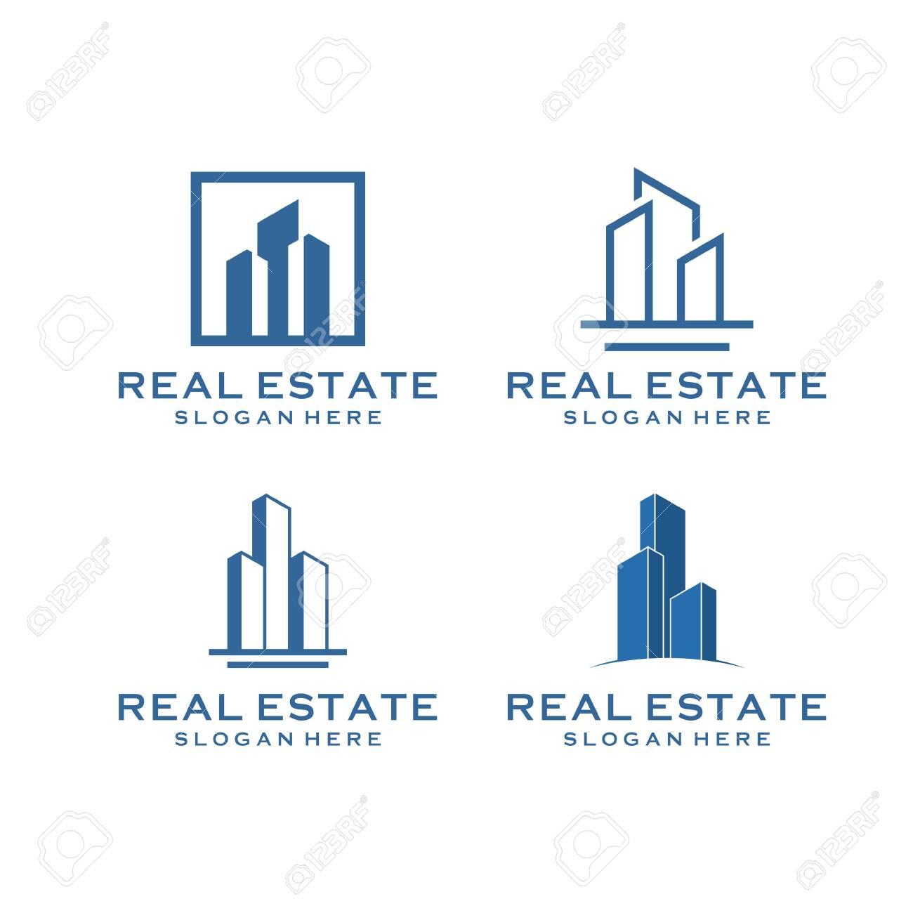 inspirational real estate building design bundle that contain 4 - 145666833
