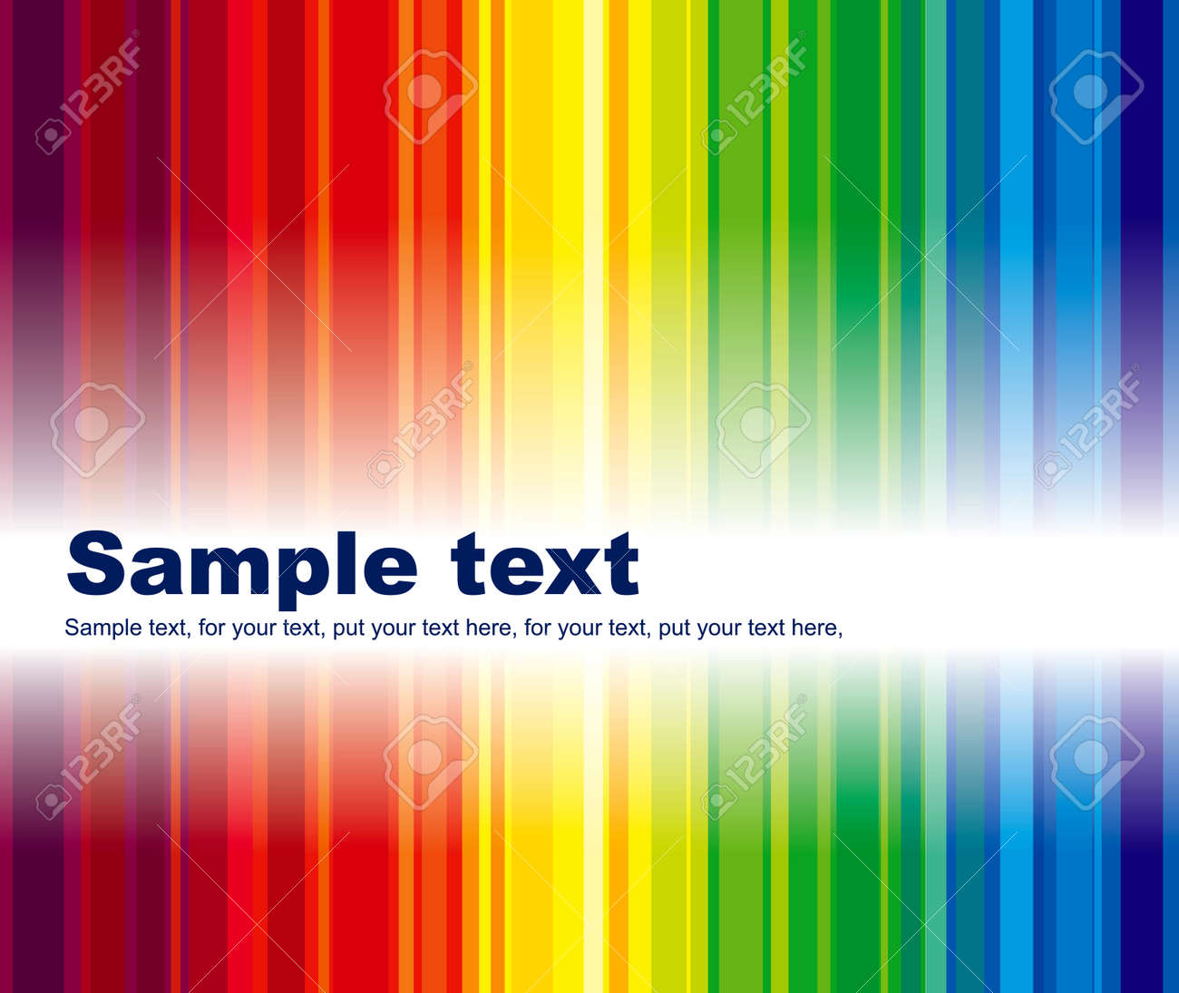 Abstract business background with space for text Stock Vector - 5485957
