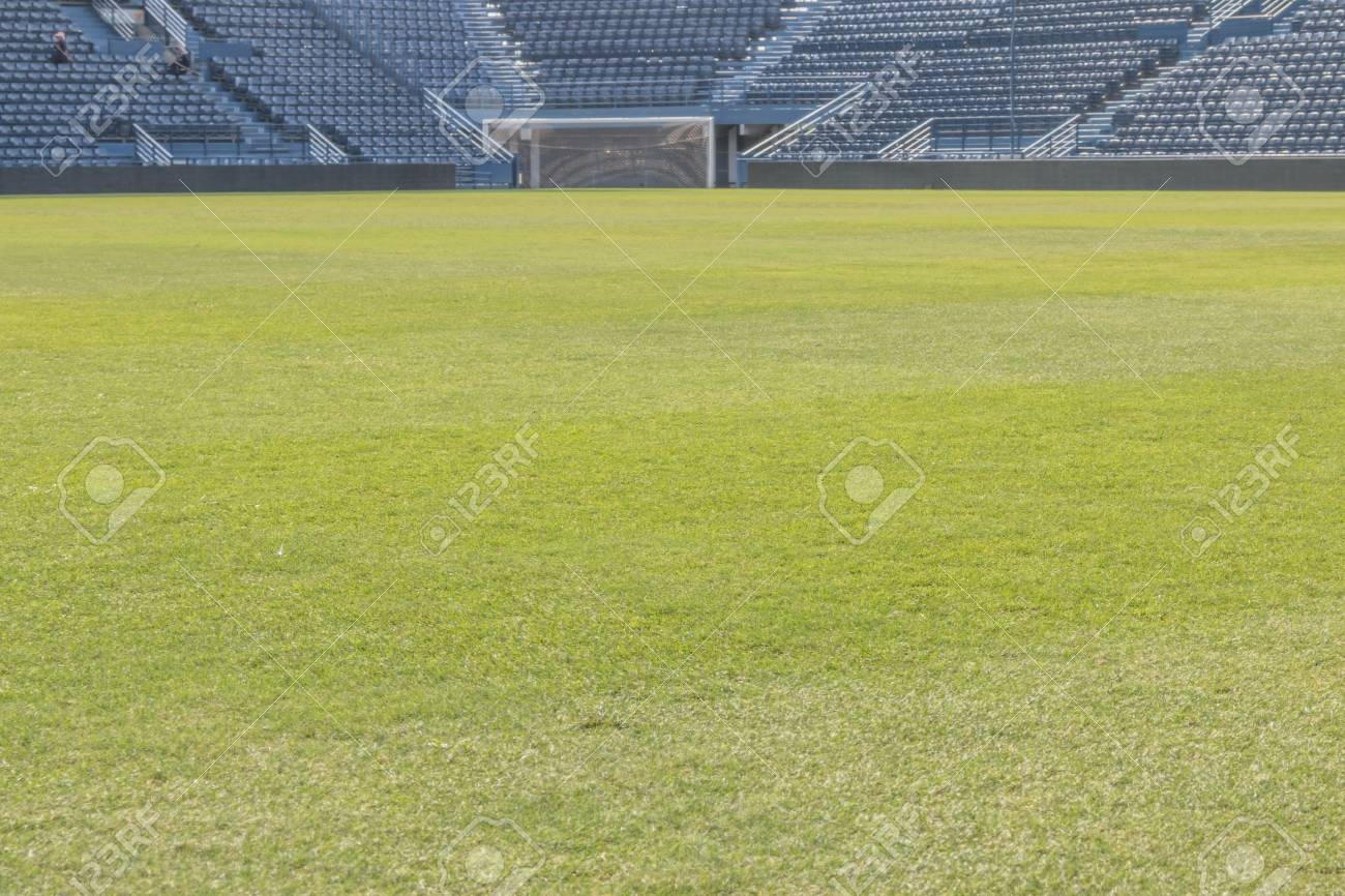 The Standard Size Football Pitch Each Field May Not Be The Same Stock Photo Picture And Royalty Free Image Image 42776832