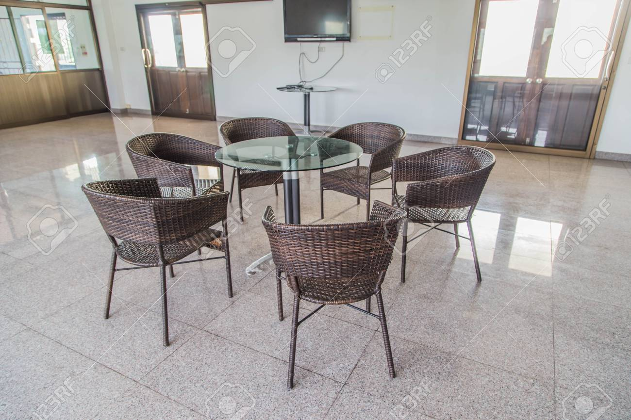 Chairs Are Available In A Variety Of Styles Materials And Colors Stock Photo Picture And Royalty Free Image Image 79402504