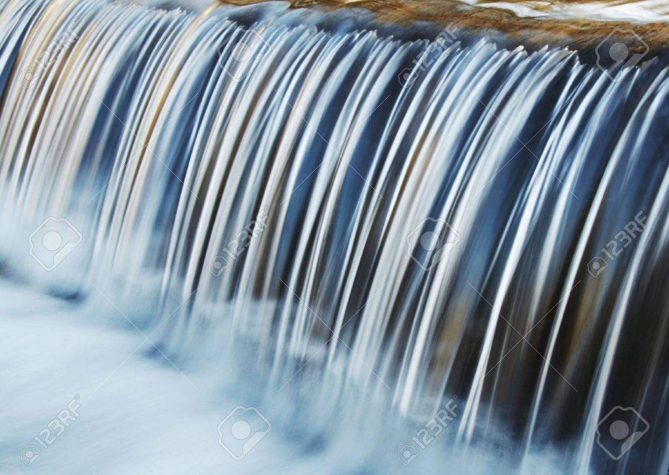 Symmetry water cascade in park Stock Photo - 840889