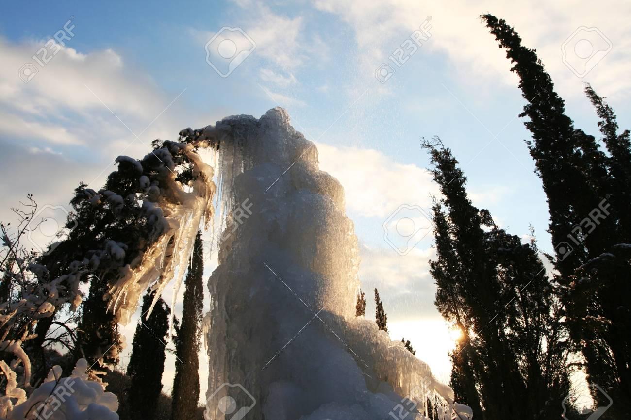 theme- frozen trees Stock Photo - 2507667