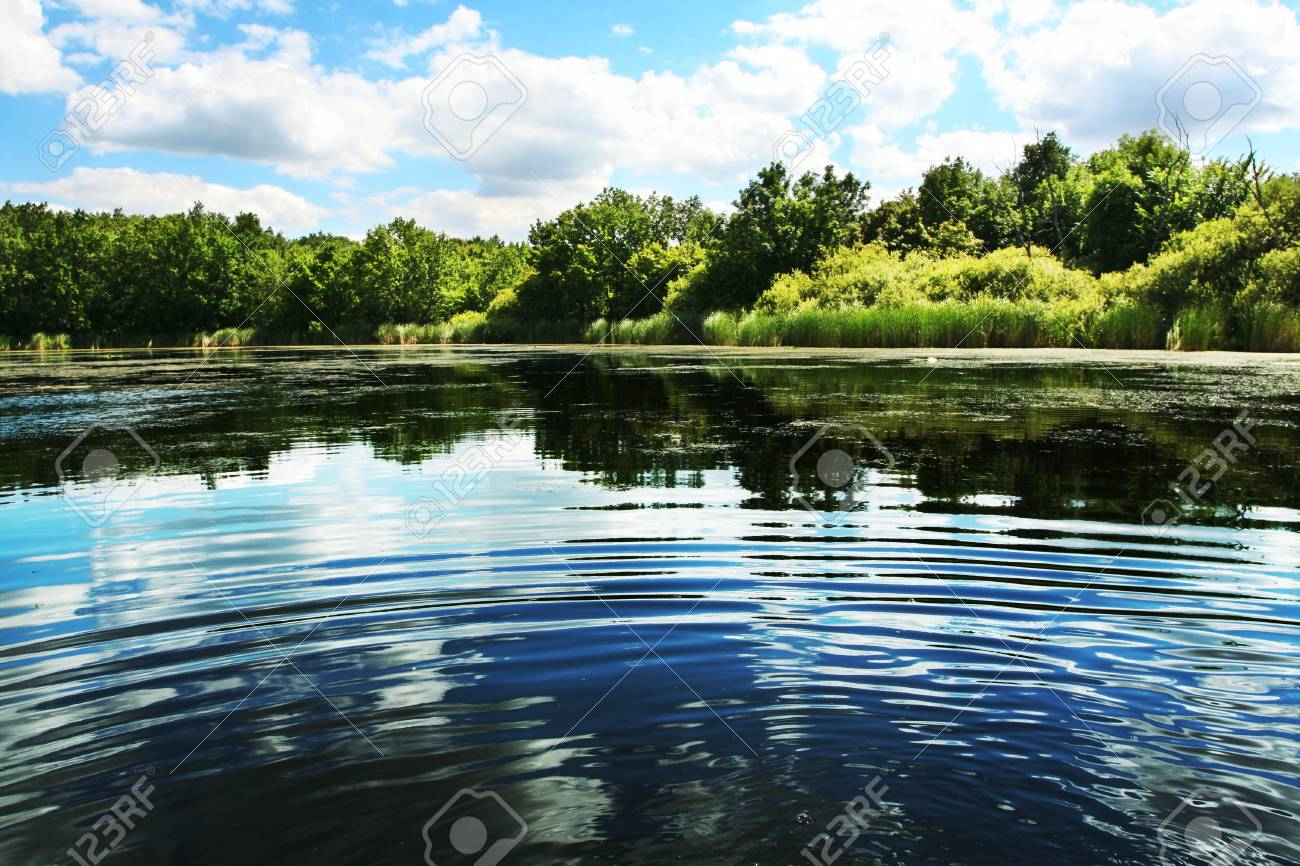 Lakes scene Stock Photo - 3313550