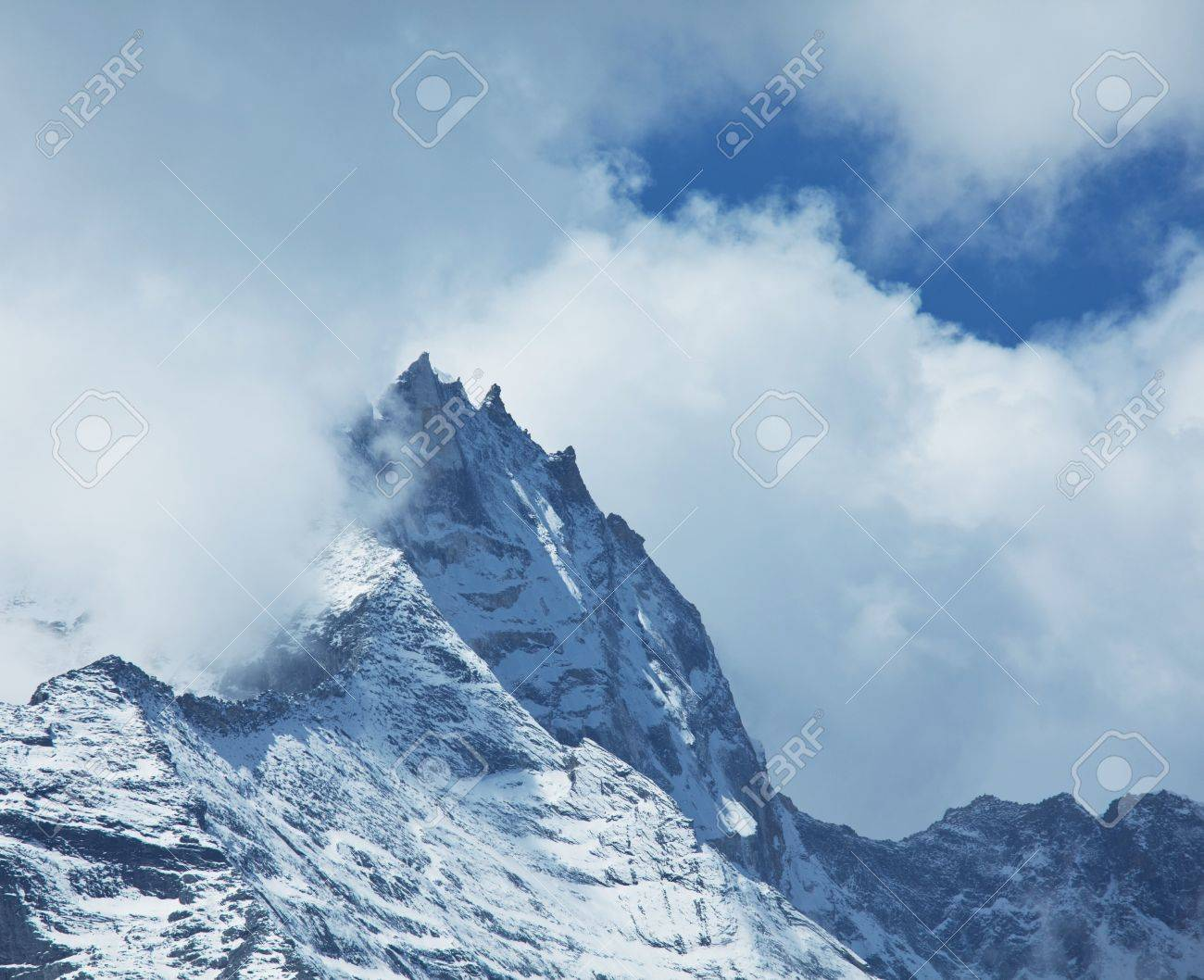 Mountains peak Stock Photo - 7719731