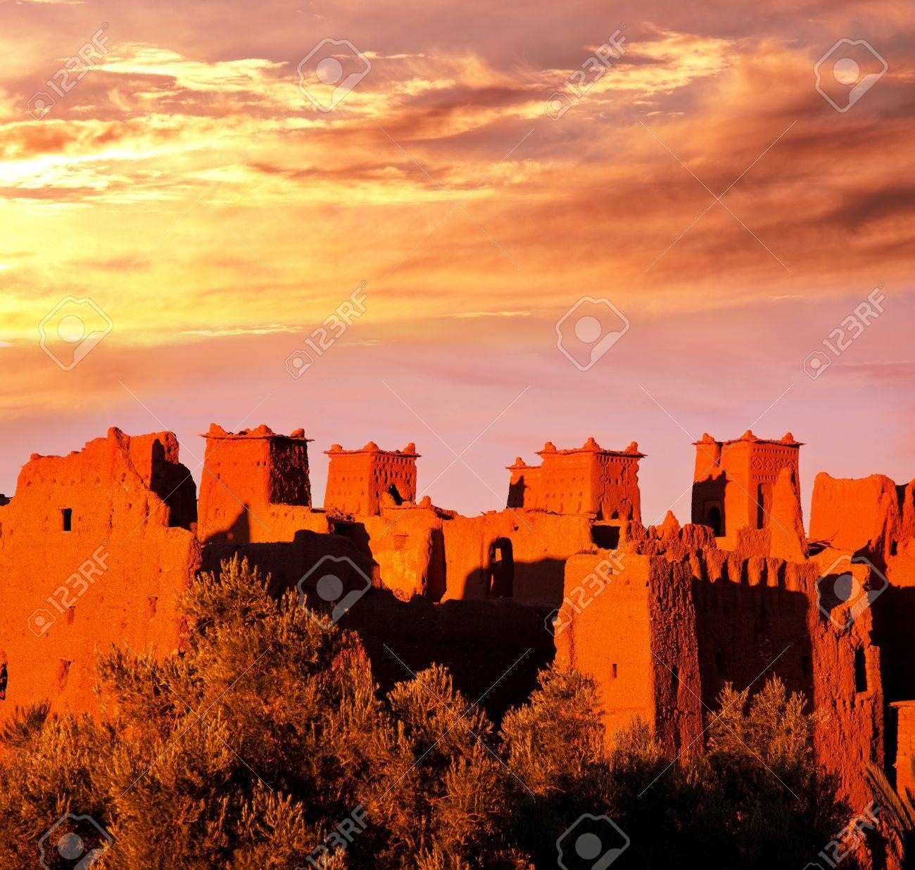 Moroccan village Stock Photo - 16592339