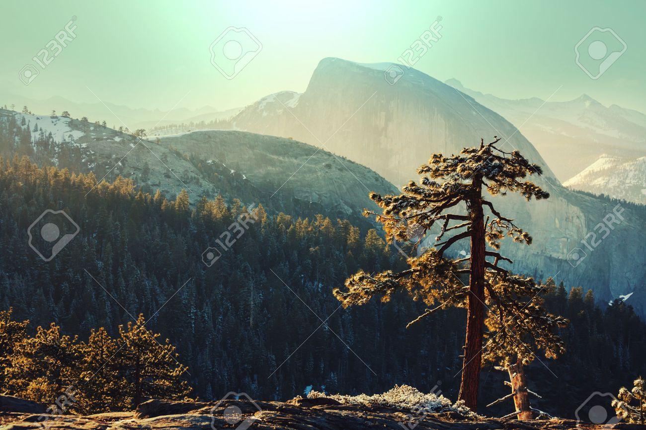 Yosemite landscapes Stock Photo - 45265075