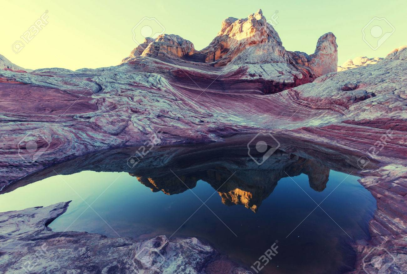 Vermilion Cliffs National Monument Landscapes Stock Photo - 48602832