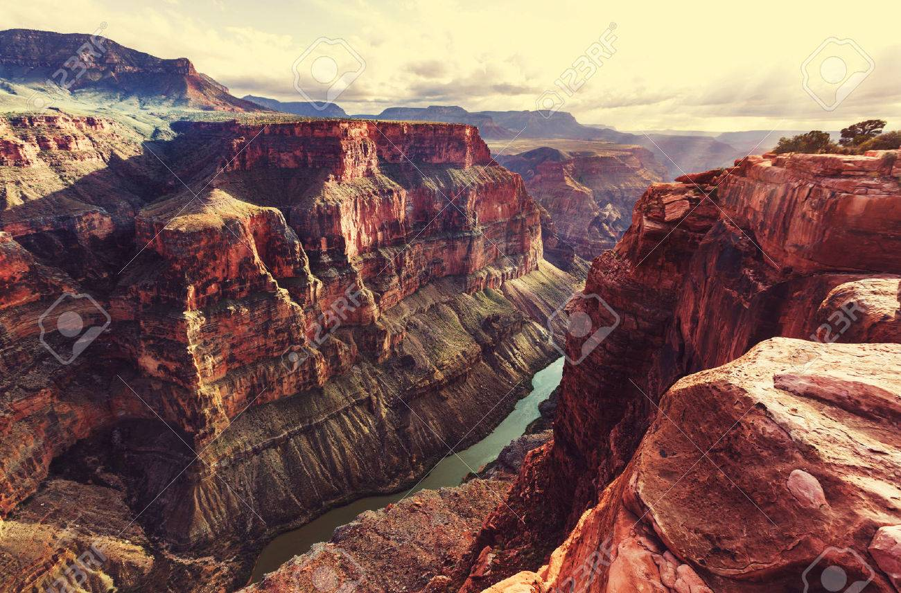 Picturesque landscapes of the Grand Canyon Stock Photo - 53542724