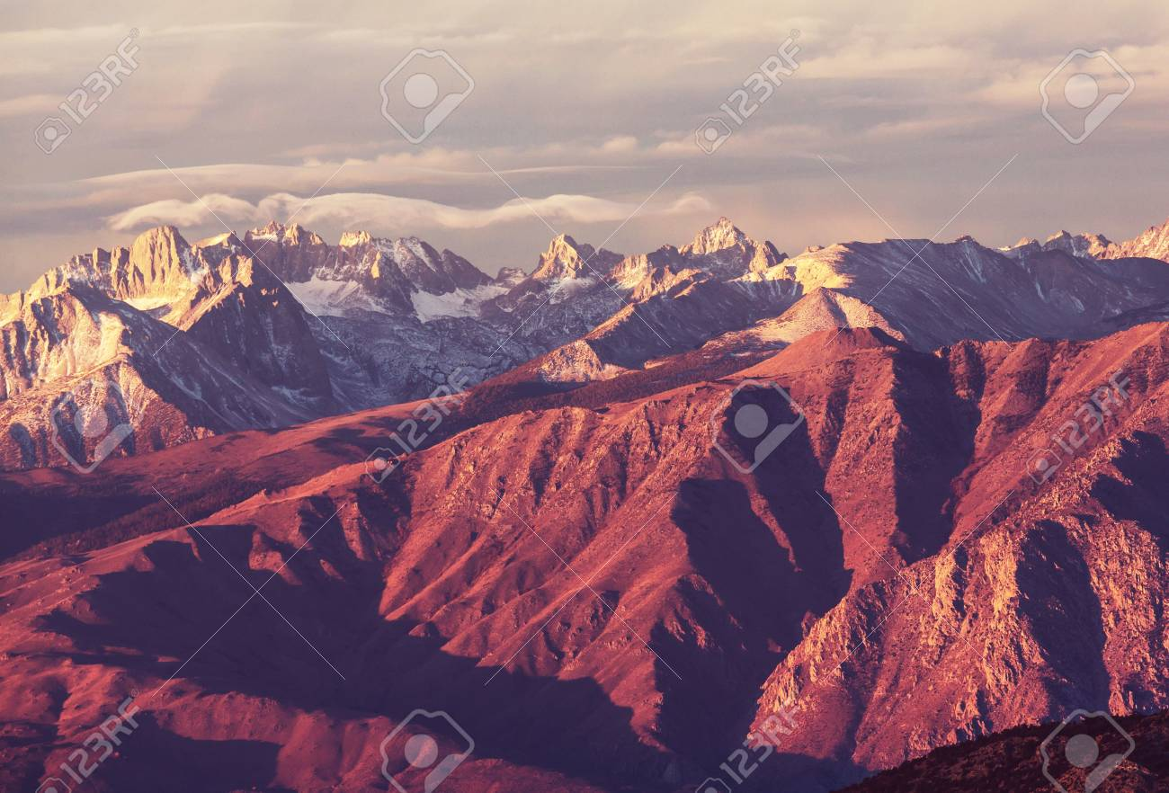 Sierra Nevada Mountains Stock Photo Picture And Royalty Free Image Image 77684670