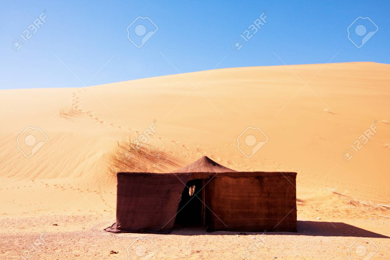 Bedouin tent. The traditional lifestyle in Morocco Africa Stock Photo - 95802324 & Bedouin Tent. The Traditional Lifestyle In Morocco Africa Stock ...