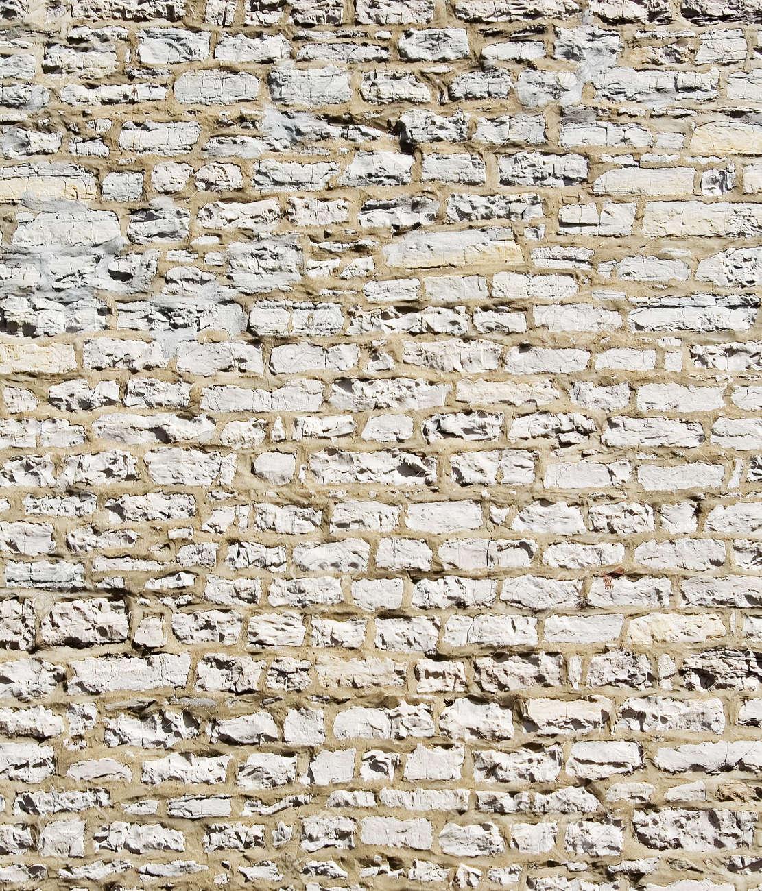 White Stone Wall Textures Old White Brick Stone Wall