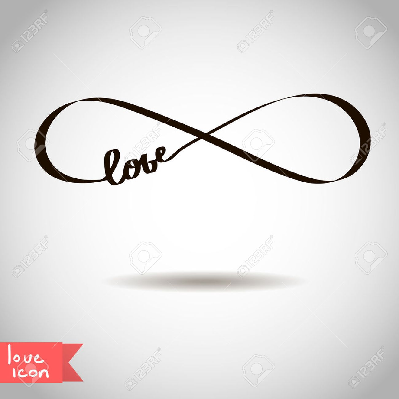 Eternal love icon valentines day vector symbol royalty free eternal love icon valentines day vector symbol stock vector 24823554 biocorpaavc Images