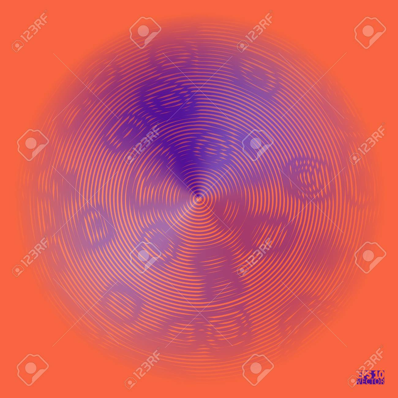 Tech futuristic abstract backgrounds, colorful circle. Eps10 Vector illustration - 125178680