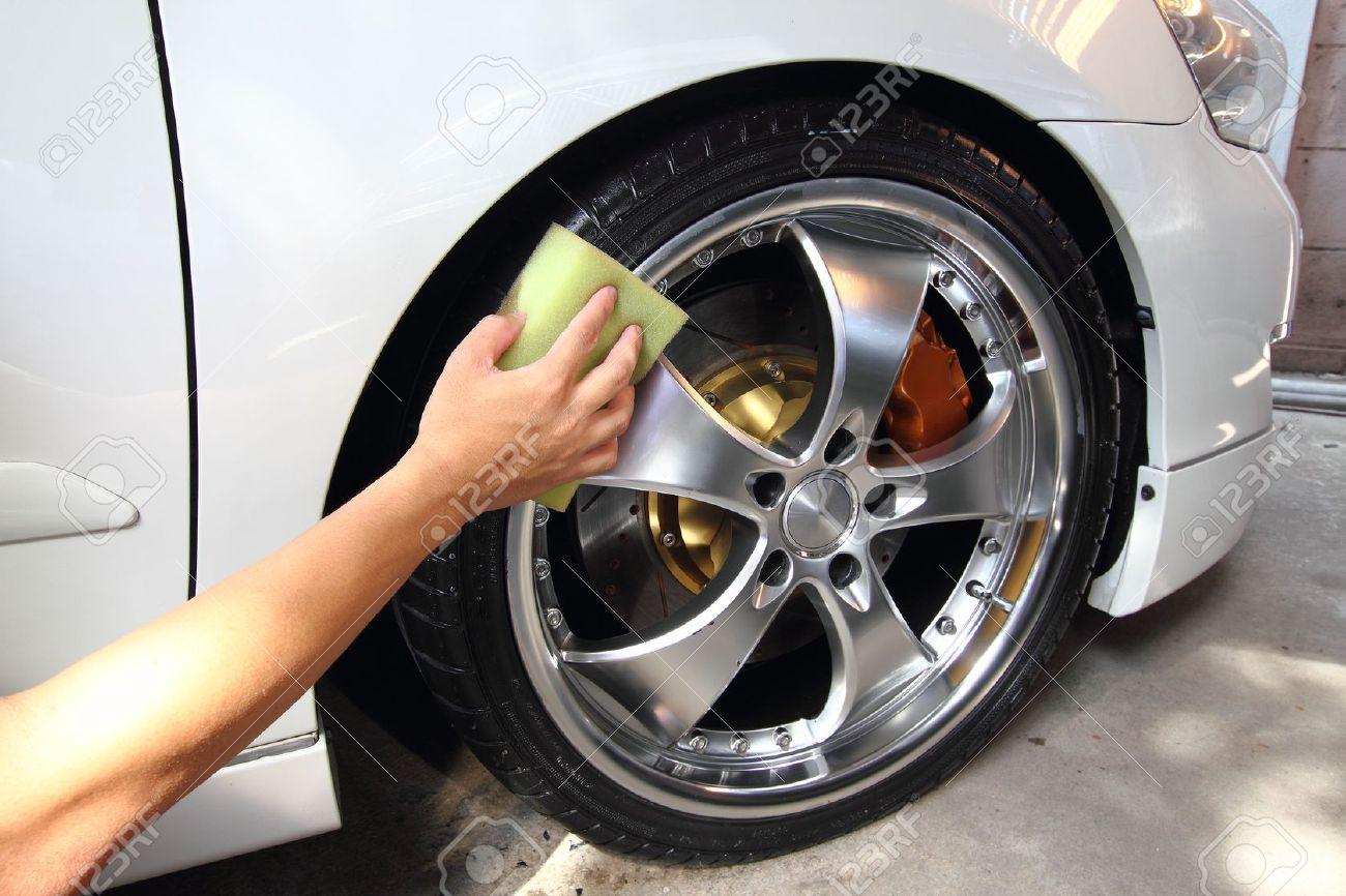 Coated wheels car wash - 19029536