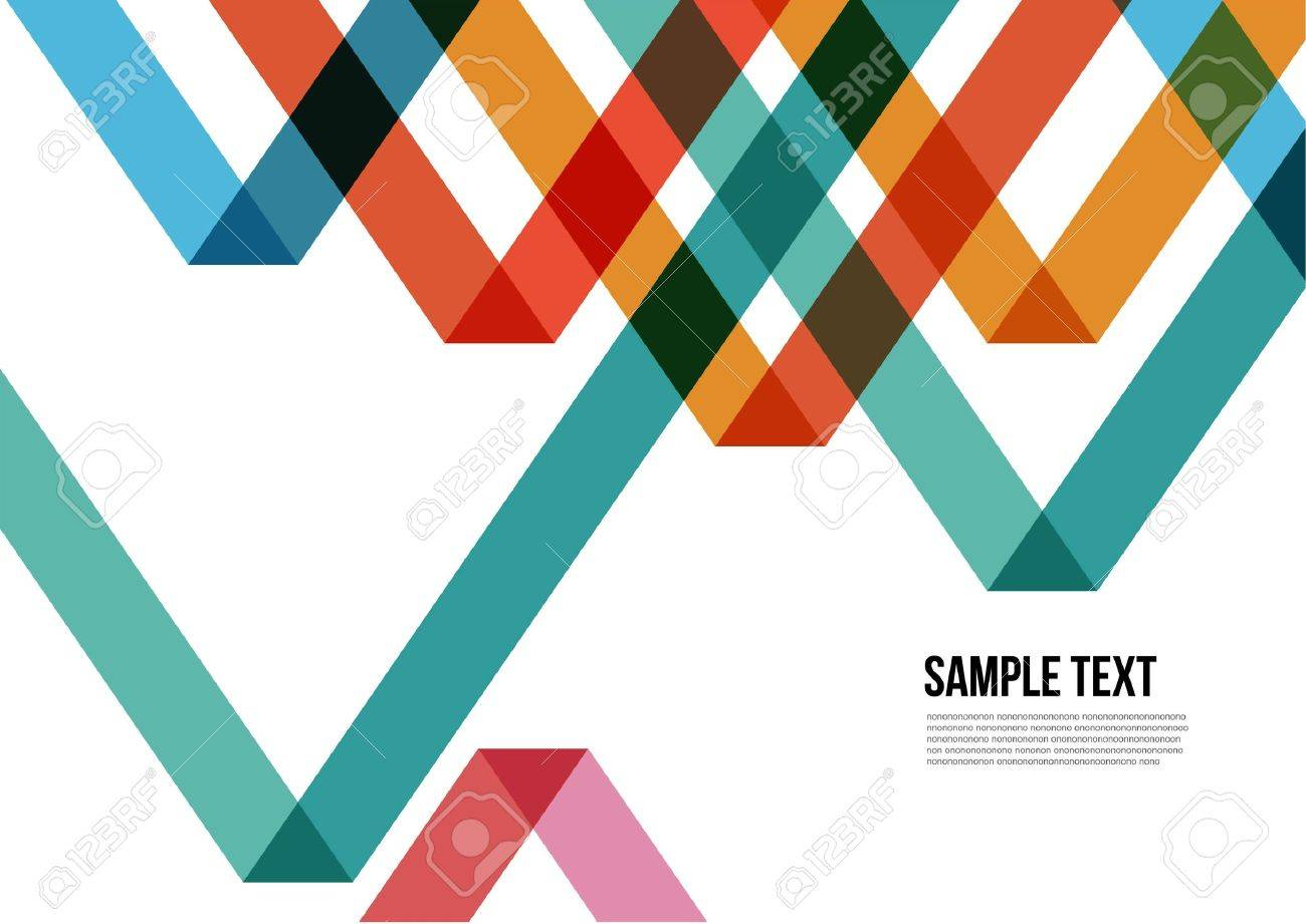 Abstract Colorful Triangle Pattern Background , Cover , Layout , Magazine, Brochure , Poster , Website , Namecard , etc - 21117074