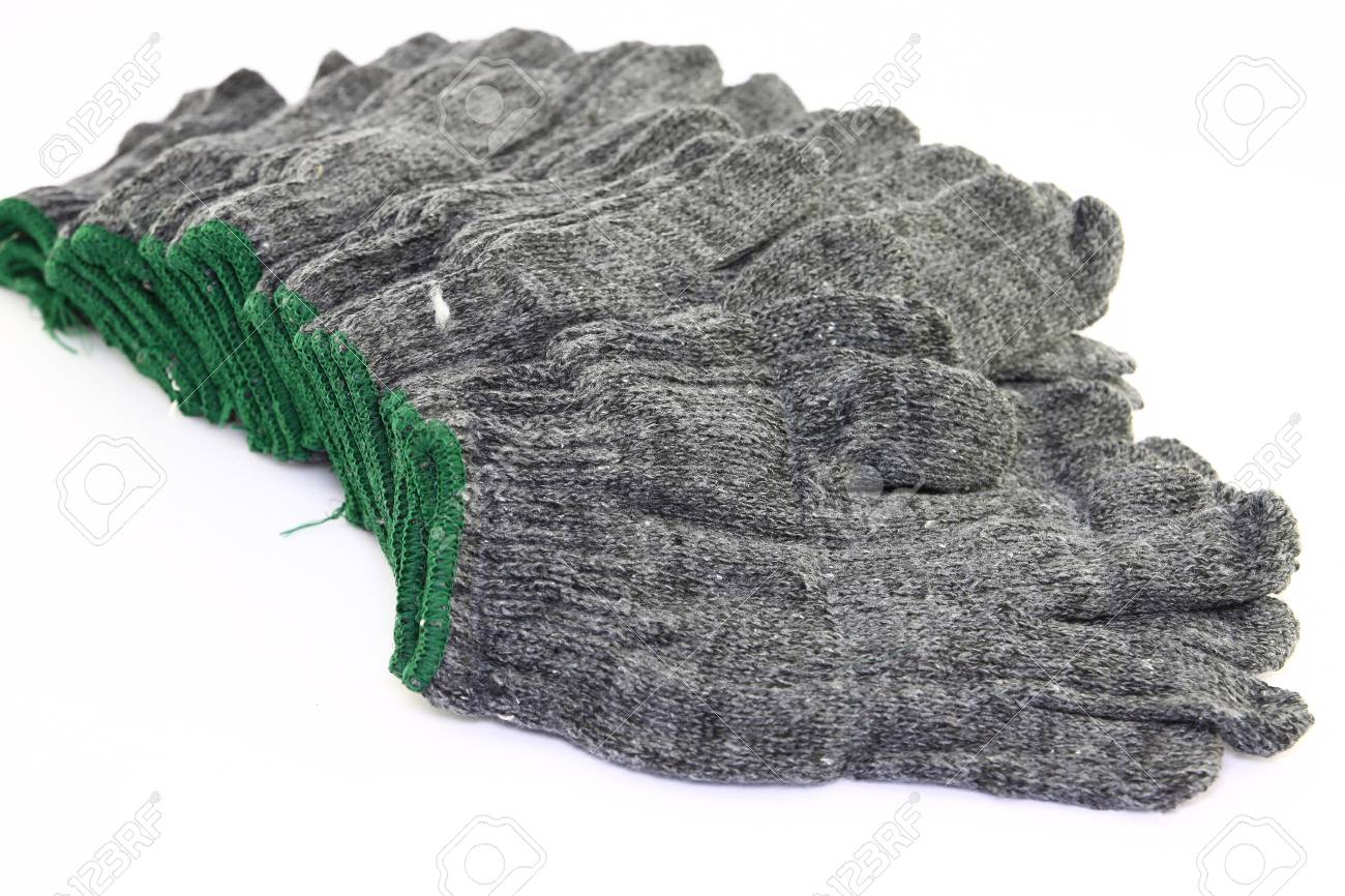 gloves on white background Stock Photo - 14447568