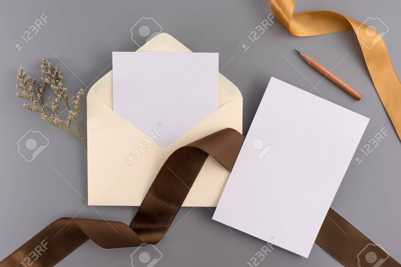 A Wedding Concept Wedding Invitation Envelopes Cards Papers