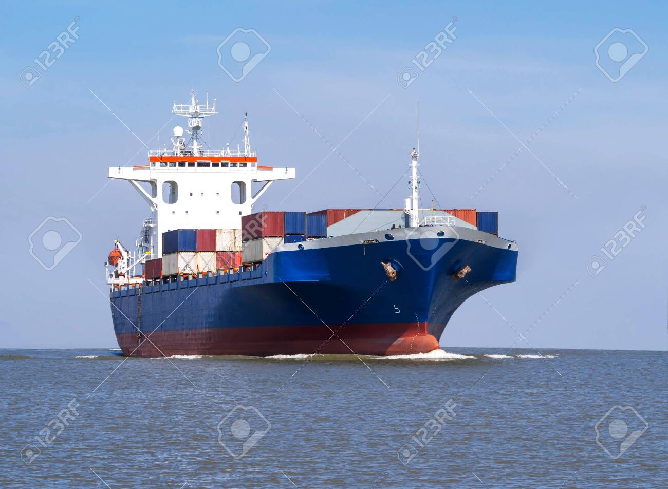 Logistics and Transportation of international Container Cargo ship - 131266286