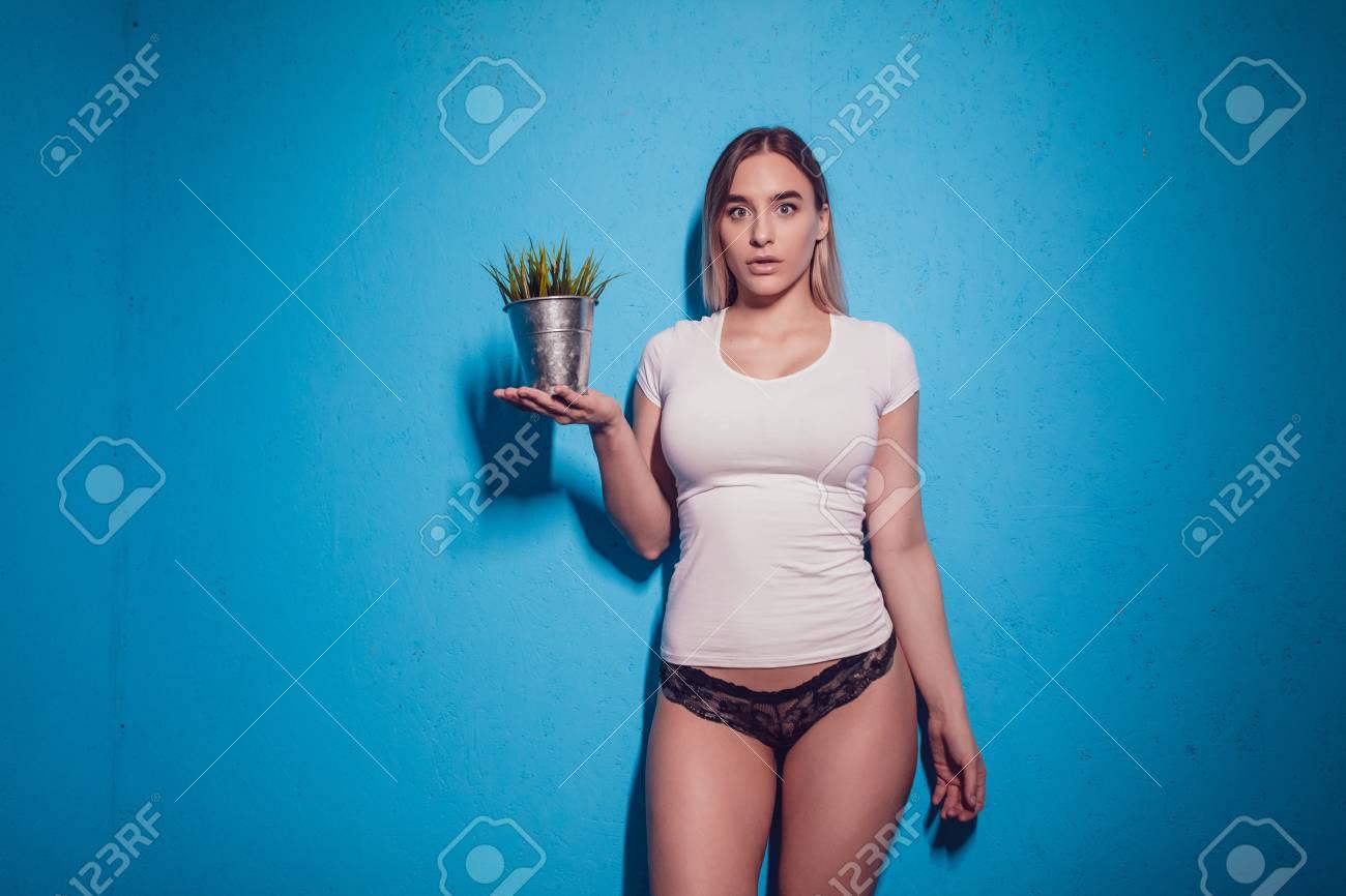 Green Shirt Panties
