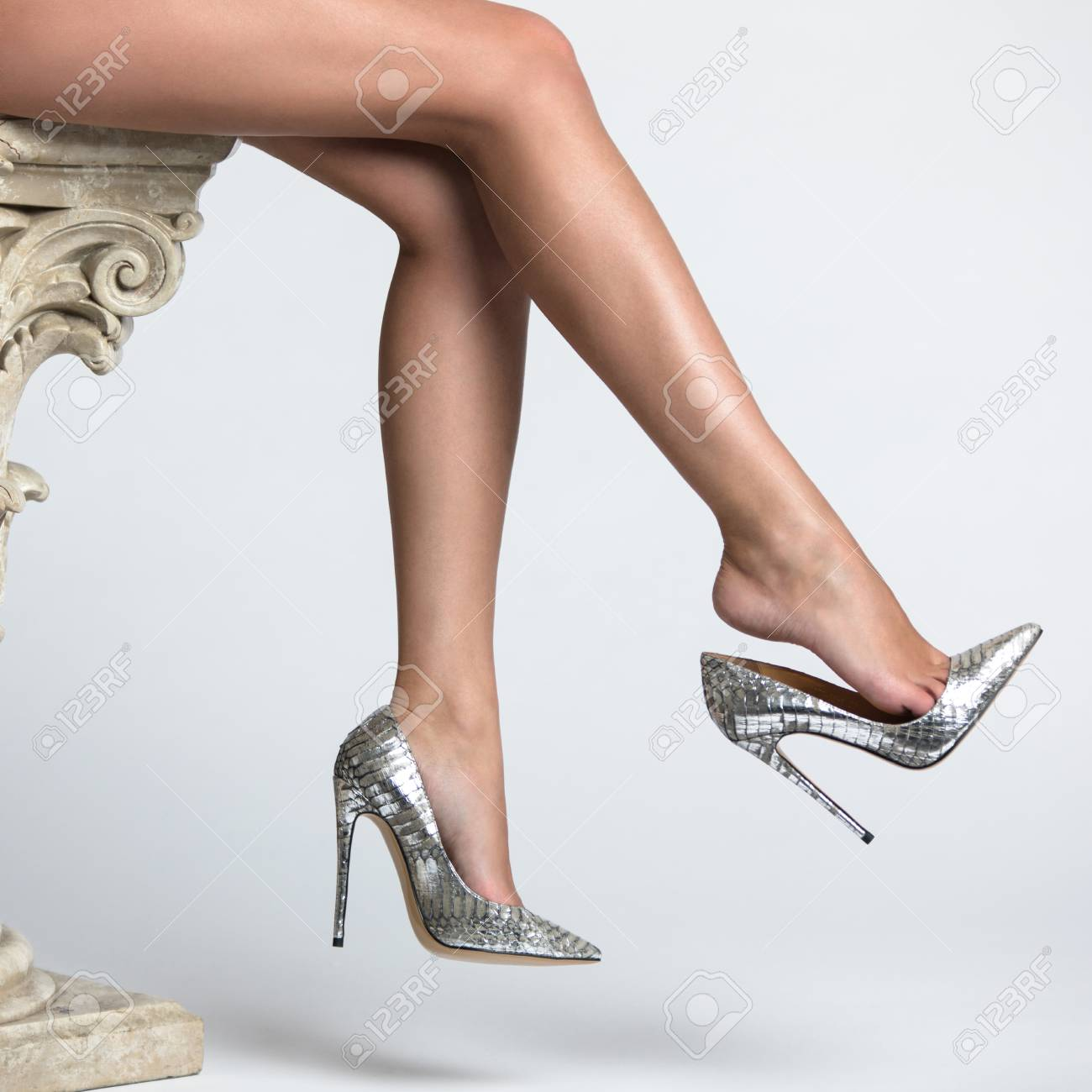 Women In High Heel Shoes