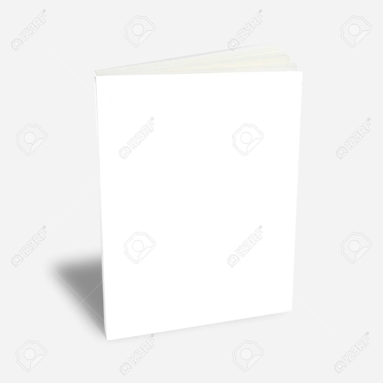 white book magazine Stock Photo - 9702542