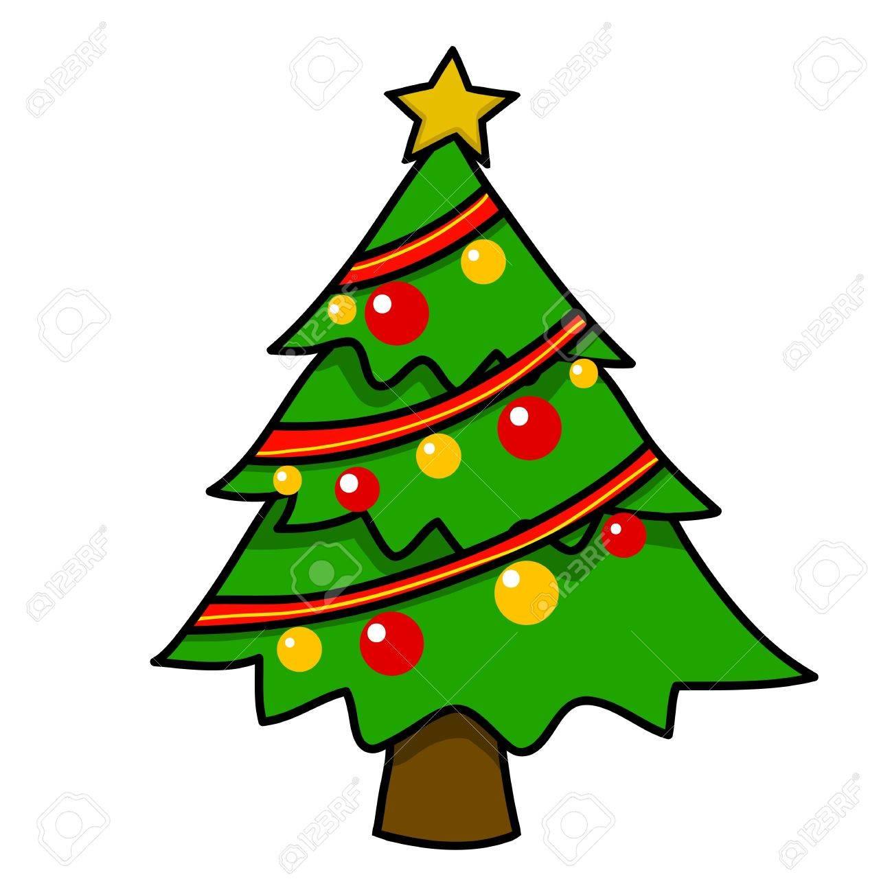 Fotos De Arboles De Navidad En Dibujos.Navidad Arbol De Dibujos Animados