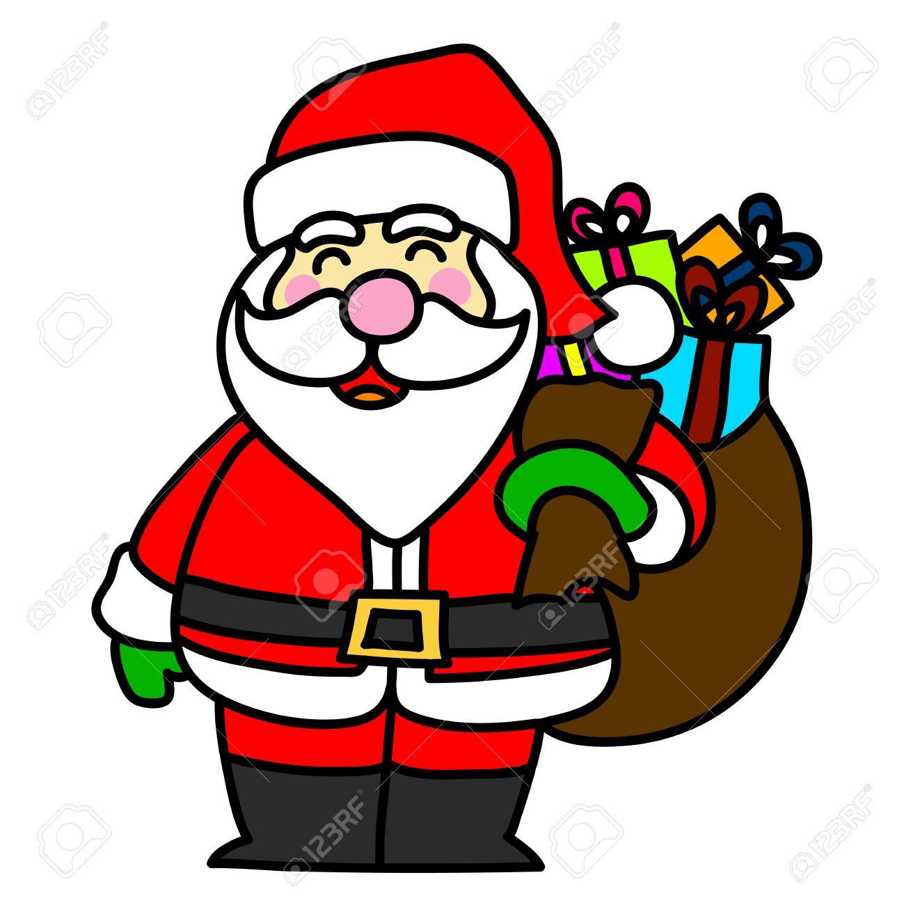 cartoon santa claus royalty free cliparts, vectors, and stock