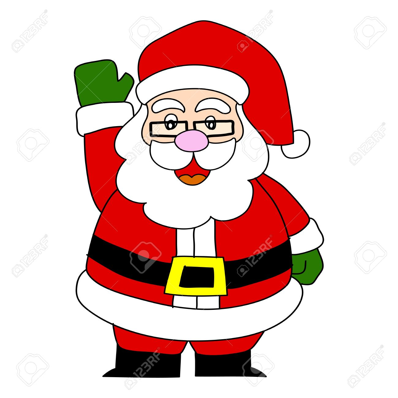 Cartoon Santa Claus Royalty Free Cliparts Vectors And Stock Illustration Image 15580030 See more ideas about santa cartoon, christmas cartoons, christmas drawing. cartoon santa claus