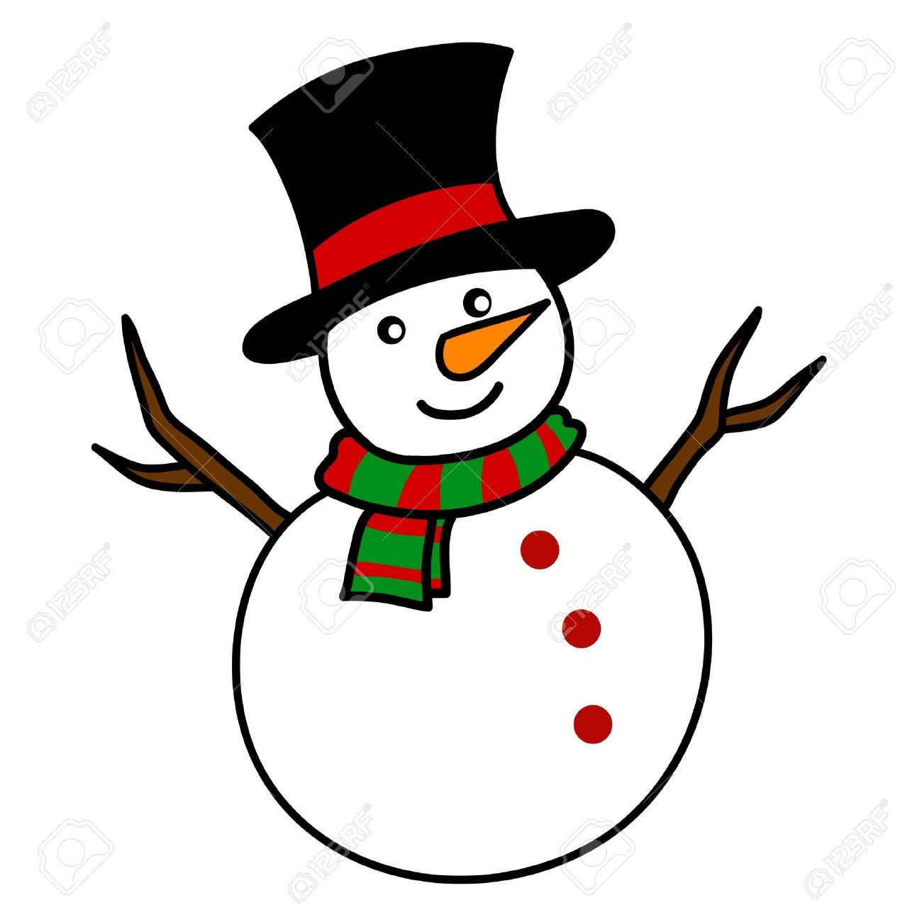 1,930 Snowman Nose Stock Illustrations, Cliparts And Royalty Free ...