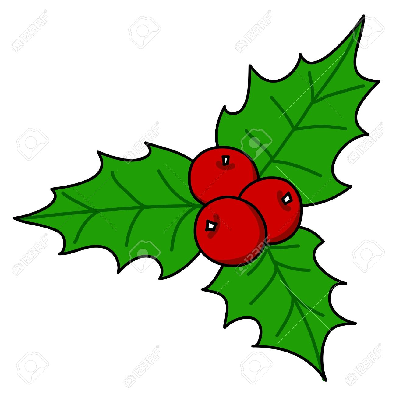 holly berry christmas hand writing cartoon royalty free cliparts rh 123rf com holly berry pictures clip art holly berry pictures clip art